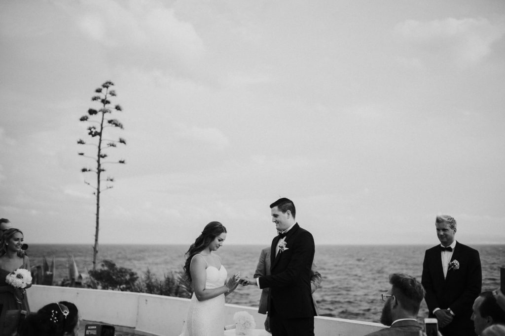 wedding on Adriatic coast