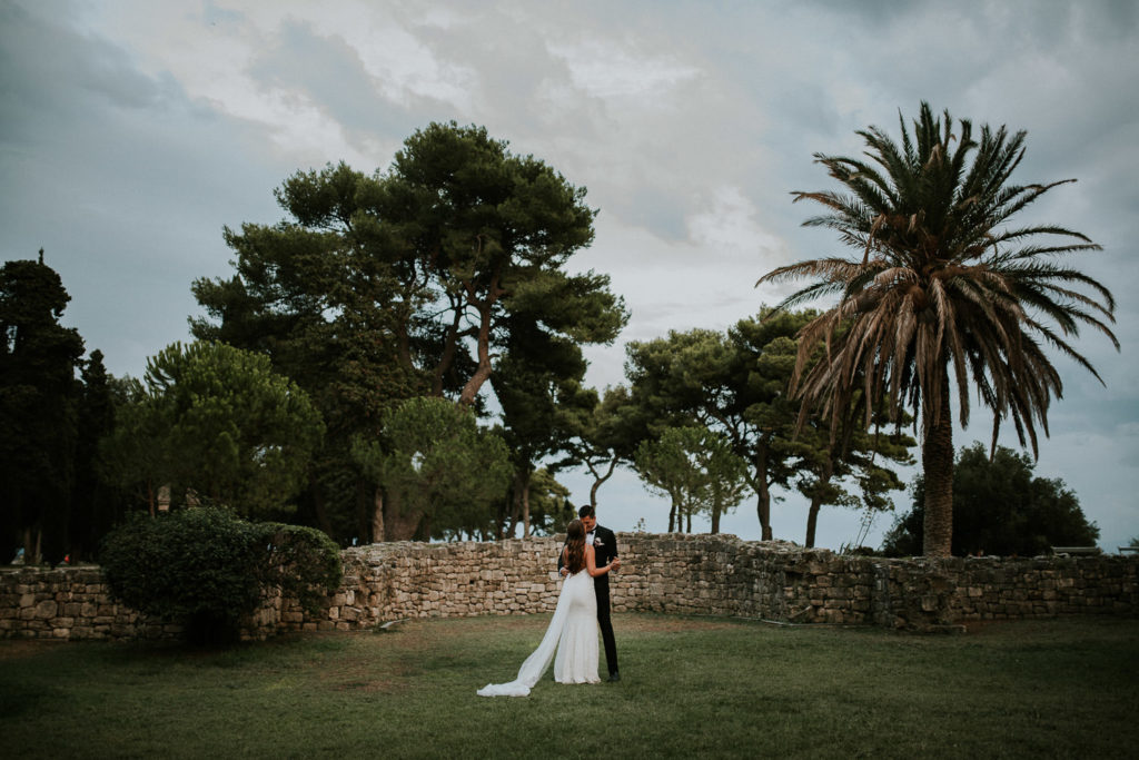 location for wedding session on Adriatic