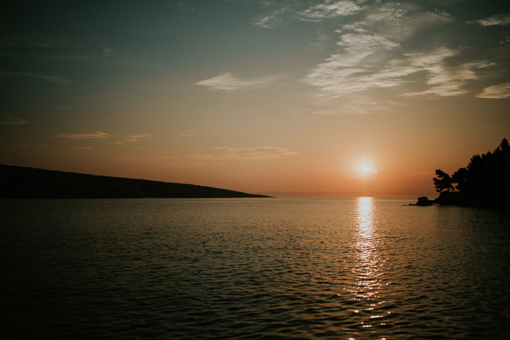 croatian sunset